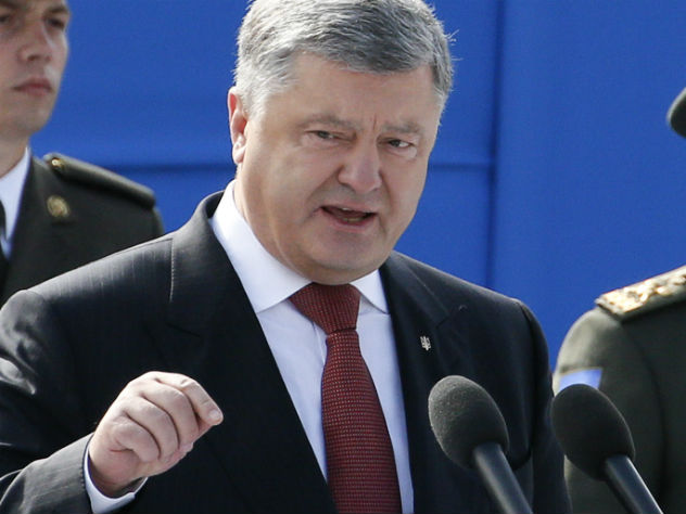 Порошенко рассказал о судьбе Саакашвили на Украине
