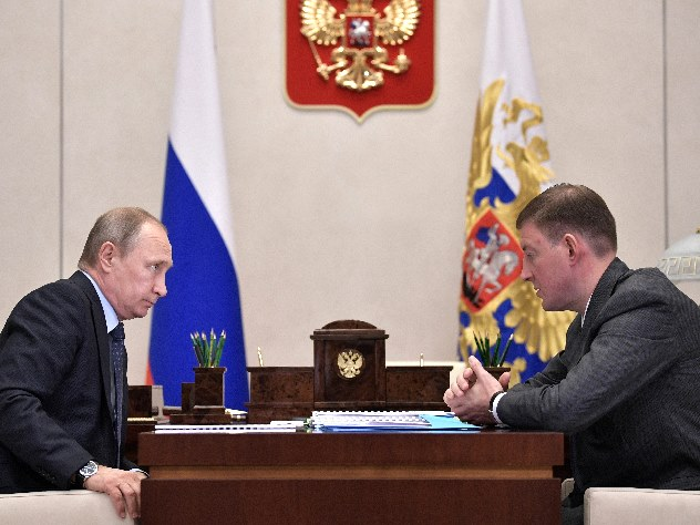 Путин уволил губернатора Псковской области