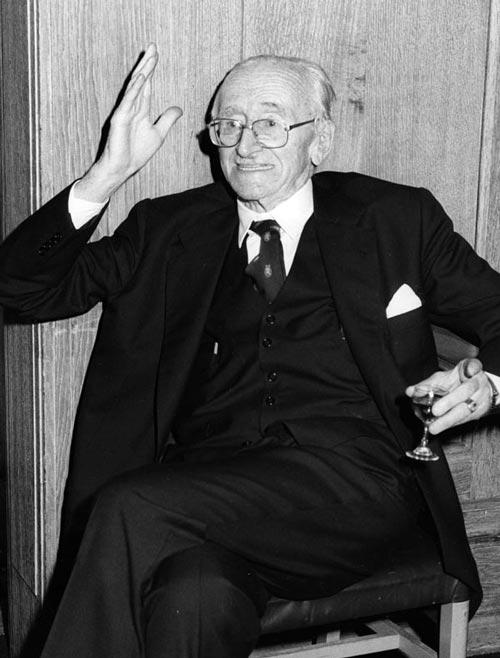 Икона экономического либерализма Фридрих фон Хайек. wikimedia