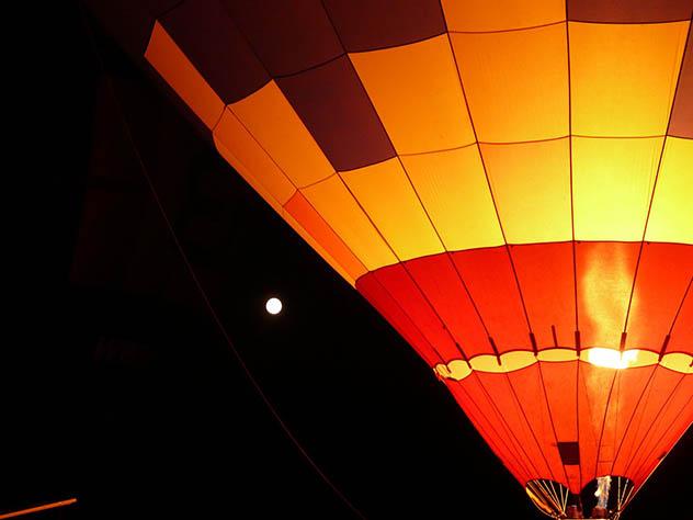 Новосибирец запустил воздушный шар с «Окой» вместо корзины
