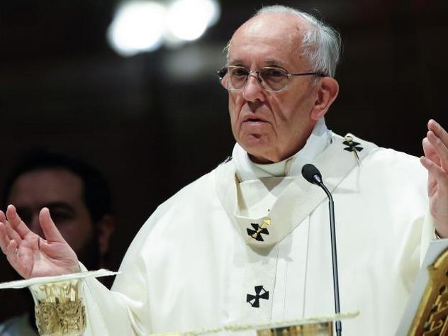 Папа римский назвал виновного в конфликте на Украине
