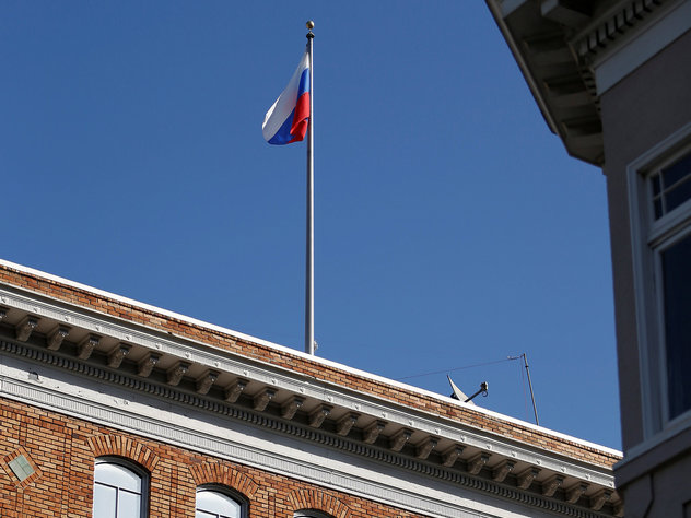 Российские депутаты отложили визит в США из-за флагов