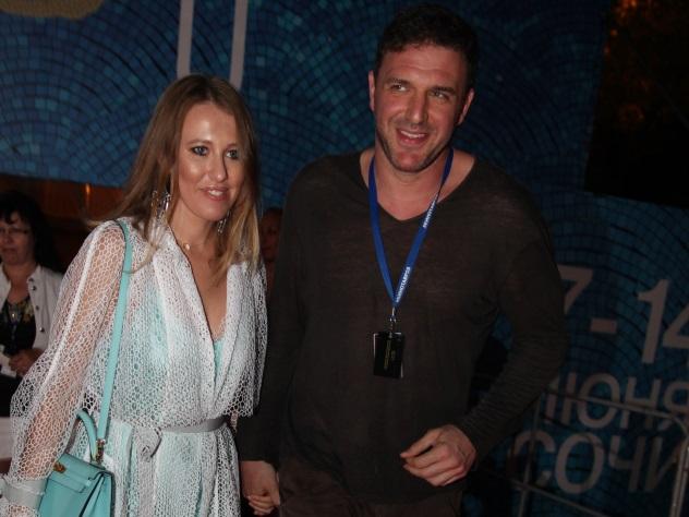 Максим Виторган показал семейную идиллию с Собчак
