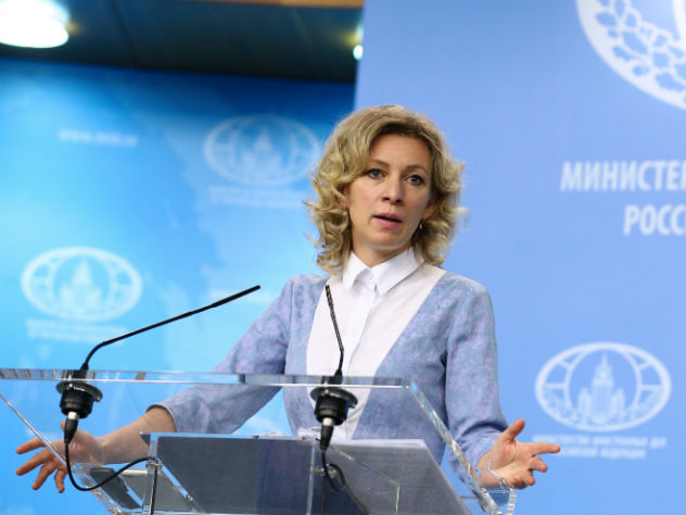 Захарова сравнила Саакашвили с Карлсоном без пропеллера