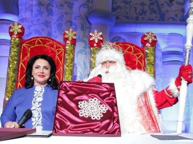 надежда бабкина дед мороз подписали снежное соглашение сотрудничестве