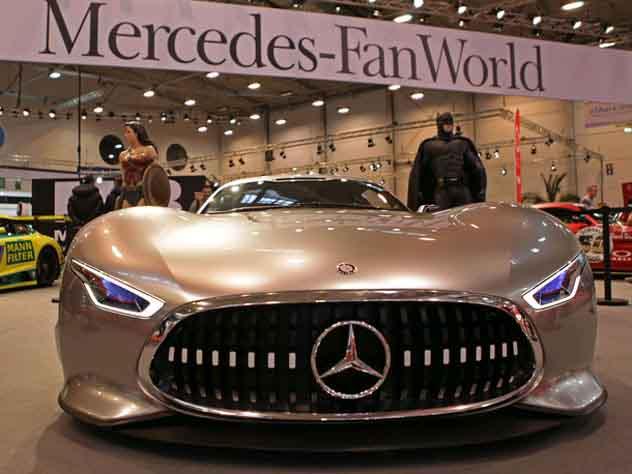 Назван самый популярный автомобиль класса люкс среди россиян