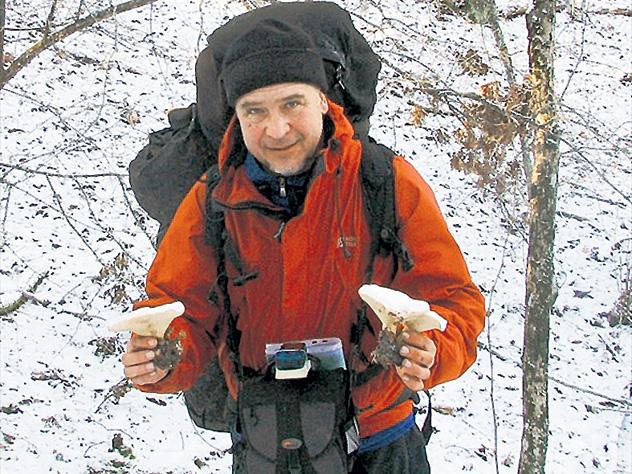 Тёплая зима преподнесла грибникам необычный сюрприз