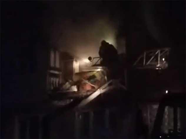 В Омске в жилом доме прогремел взрыв