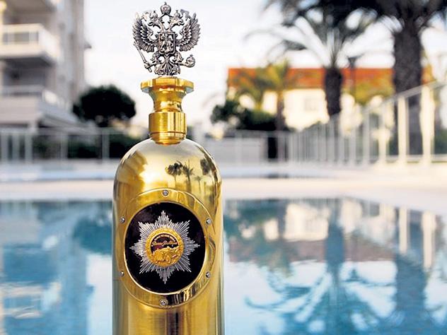 В Дании украли и выпили самую дорогую в мире бутылку водки