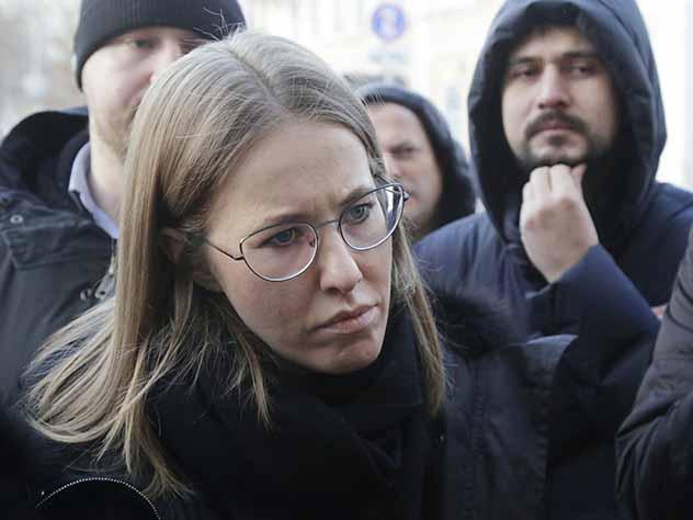 Собчак готова приехать в Крым только с разрешения Киева