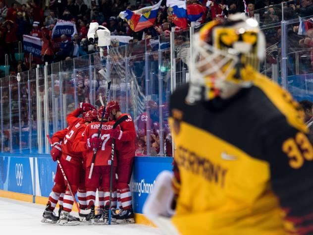 «Красная машина» завоевала золото на Олимпиаде, обыграв Германию