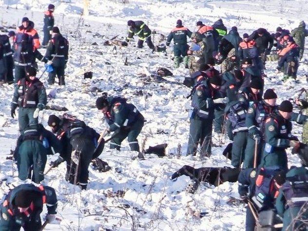 Образцы ДНК родственников жертв крушения Ан-148 отправлены из Орска в Москву
