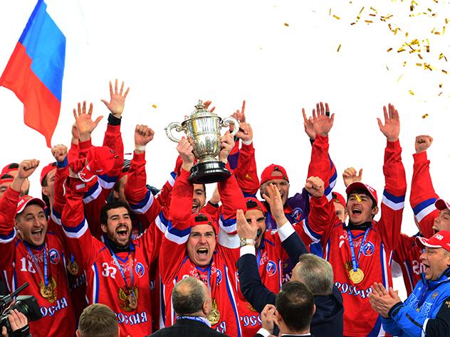 Россия вернула себе звание чемпиона мира по хоккею с мячом