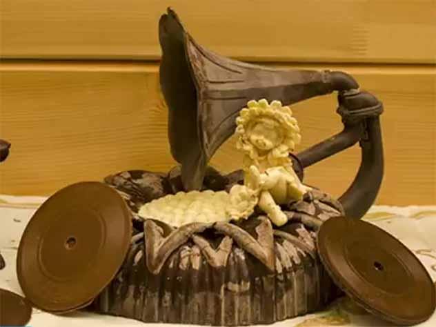 В Музее шоколада на Алтае появился «Путин на медведе»