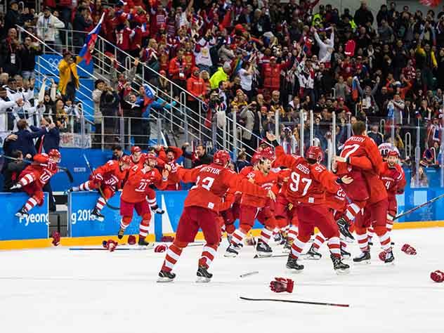 Оскорбление от New York Post и другие СМИ о победе российских хоккеистов