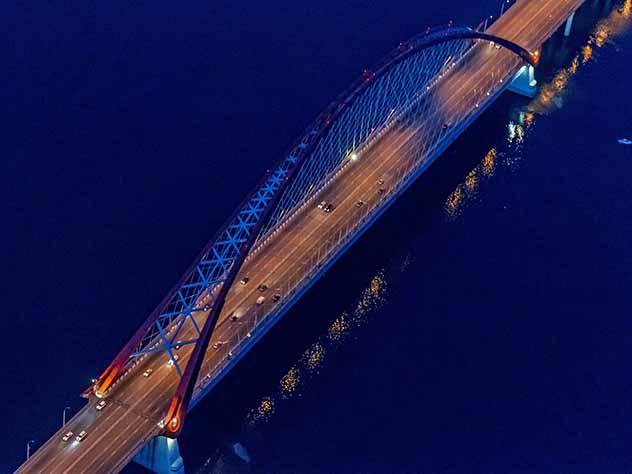 Двое подростков упали с новосибирского моста в Обь