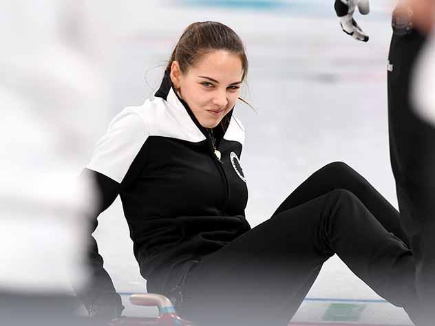 Российская керлингистка Анастасия Брызгалова покорила мир своей красотой