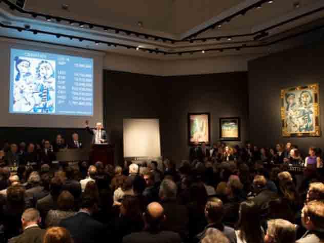 Два полотна Пикассо ушли с торгов Christie's за 30,5 миллионов долларов