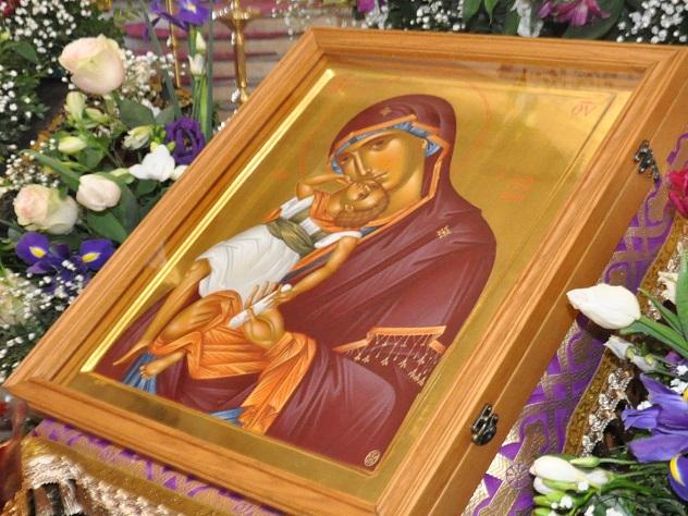 черкесск доставлена чудотворная икона святой горы афон