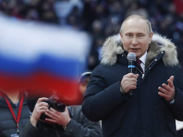 Путин о возврате Крыма: «С ума сошли, что ли? Нет таких обстоятельств»