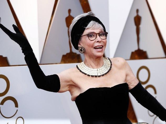 86-летняя актриса появилась на «Оскаре» в платье 56-летней давности