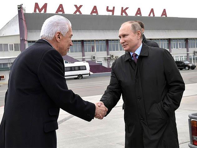 Путин назвал коррупцию болезнью не только Дагестана, но и всей страны