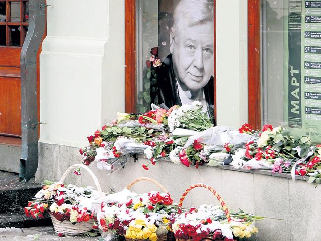 На похоронах Табакова стало понятно, как мало осталось великих стариков