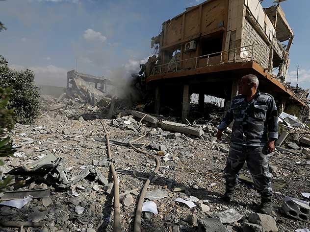 Россия могла скрыть следы химатаки в Думе