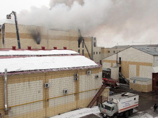 Специалисты считают  правильными действия пожарного Генина в «Зимней вишне»