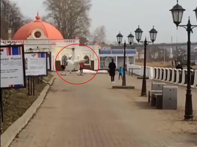 Бывший депутат прилетел в костромской ресторан на вертолете