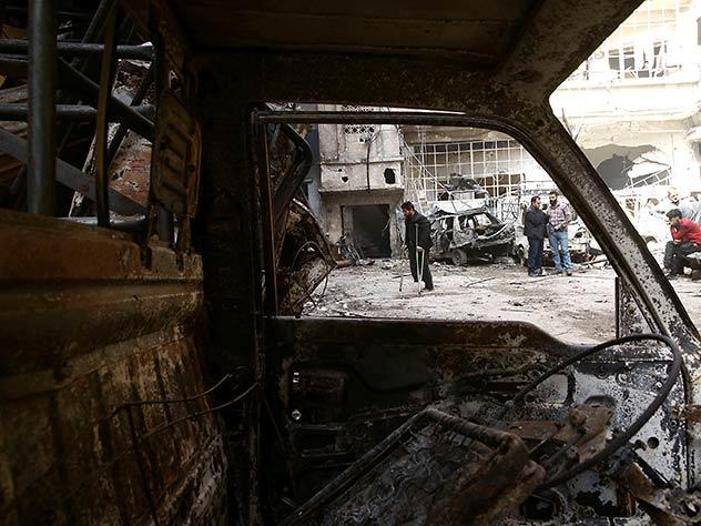 В сирийской Думе, куда едут эксперты ОЗХО, начались бои
