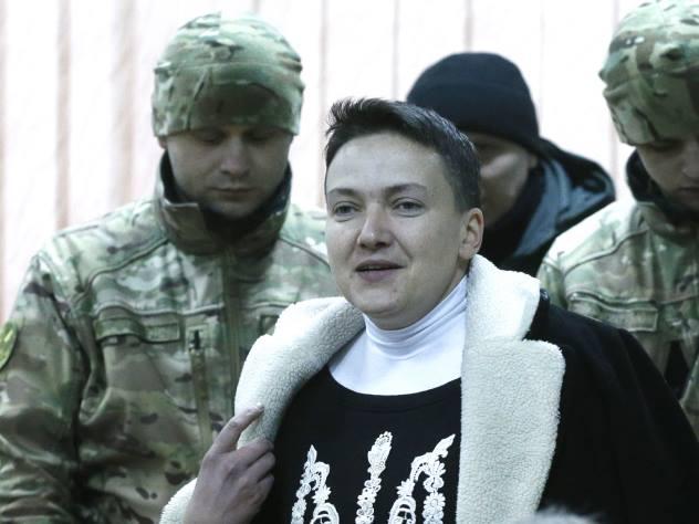 Савченко вызвалась отсидеть двадцатилетний срок в России