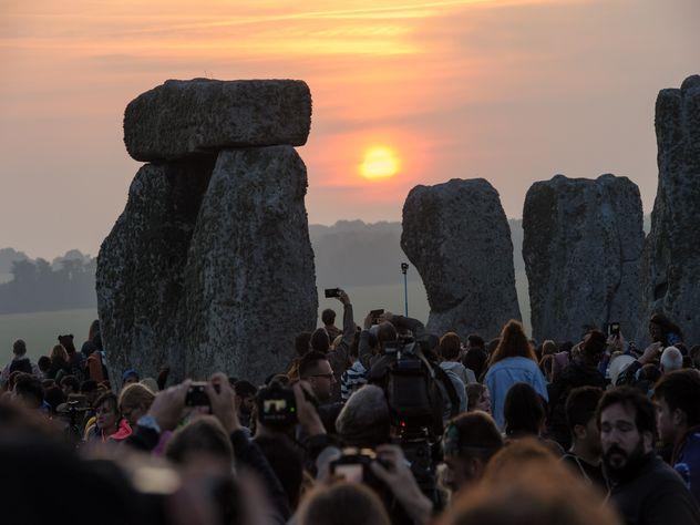 Гигантские камни Стоунхенджа в Великобританию принес ледник