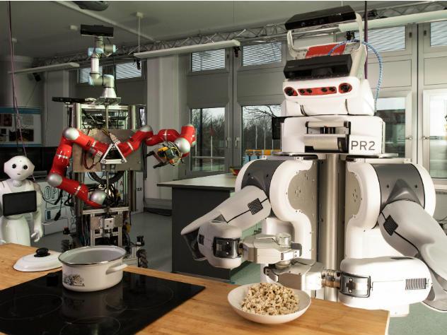 выглядит ресторан блюда готовят роботы