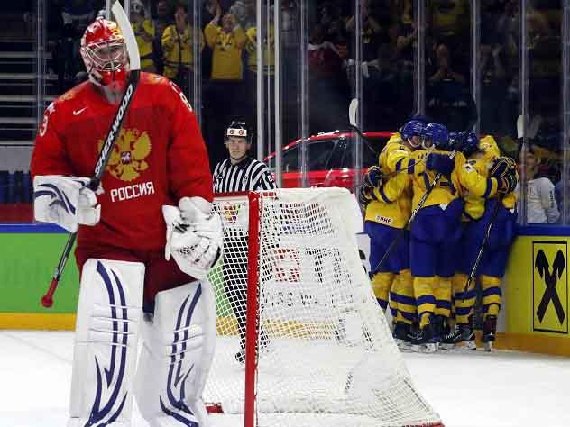 Россия сыграет с Канадой в четвертьфинале чемпионата мира по хоккею