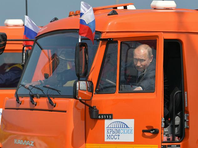 Попутчик Путина отметил, что президент замечательный водитель