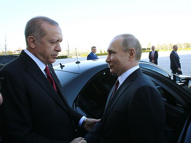 Путин и Эрдоган договорились поддержать иранскую ядерную сделку