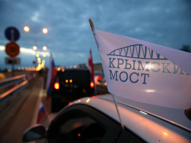 Первые участники движения и нарушители ПДД на Крымском мосту
