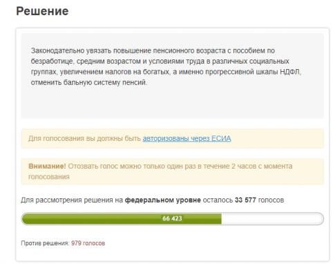 Единственный сервис, который имеет официальное значение и обязывает власти рассмотреть петицию, это платформа Российская общественная инициатива.