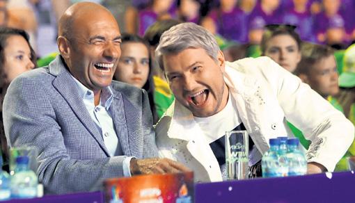 Николай Басков и Игорь Крутомой