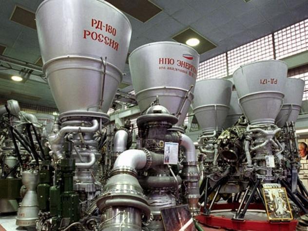 Ракетные двигатели РД-180 в США - Экспресс газета