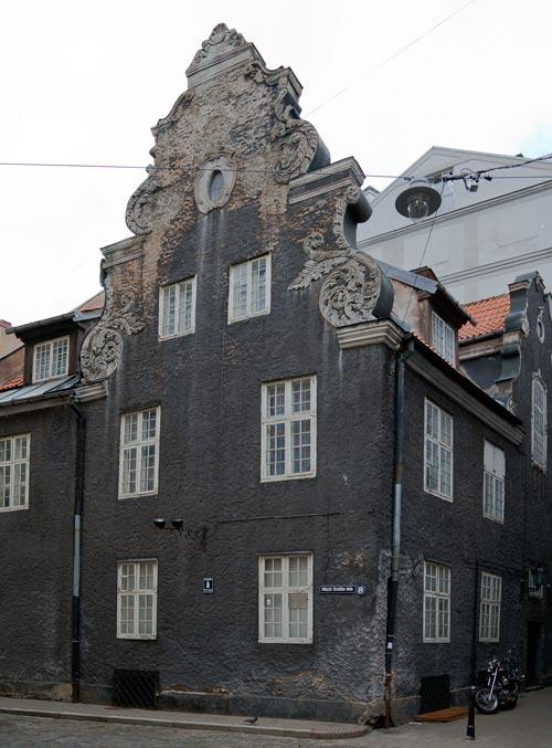 Первое здание Рижского хореографического училища. Источник: wikimedia.org. Автор: Диего Дельсо