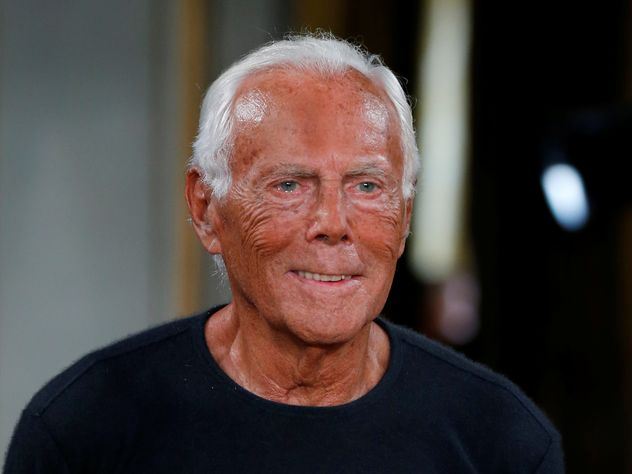 Кого из мировых знаменитостей одел Джорджо Армани   EG.RU f762095cd70