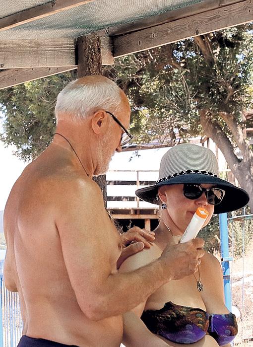 Юрий Беляев с женой Татьяной