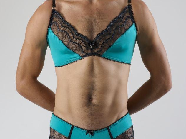 фото мужчин в женском белье