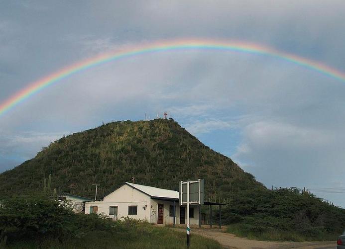 Вулканическое образование на острове Аруба