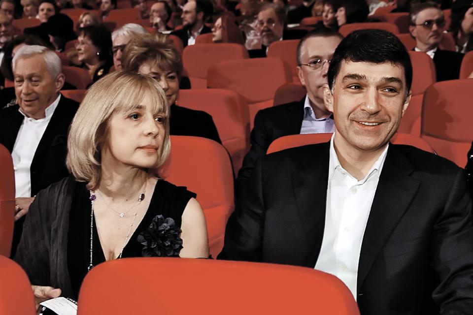 Вера Глаголева и Кирилл Шубский