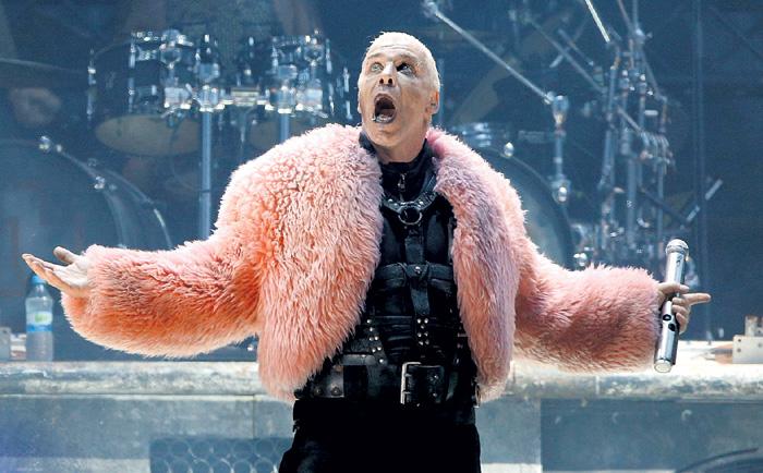 Немецкий рокер покорил украинскую поп-диву большущей харизмой длиной в 24 см