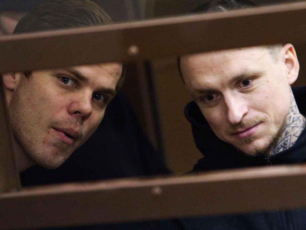 Стало известно об освобождении Кокорина и Мамаева по УДО