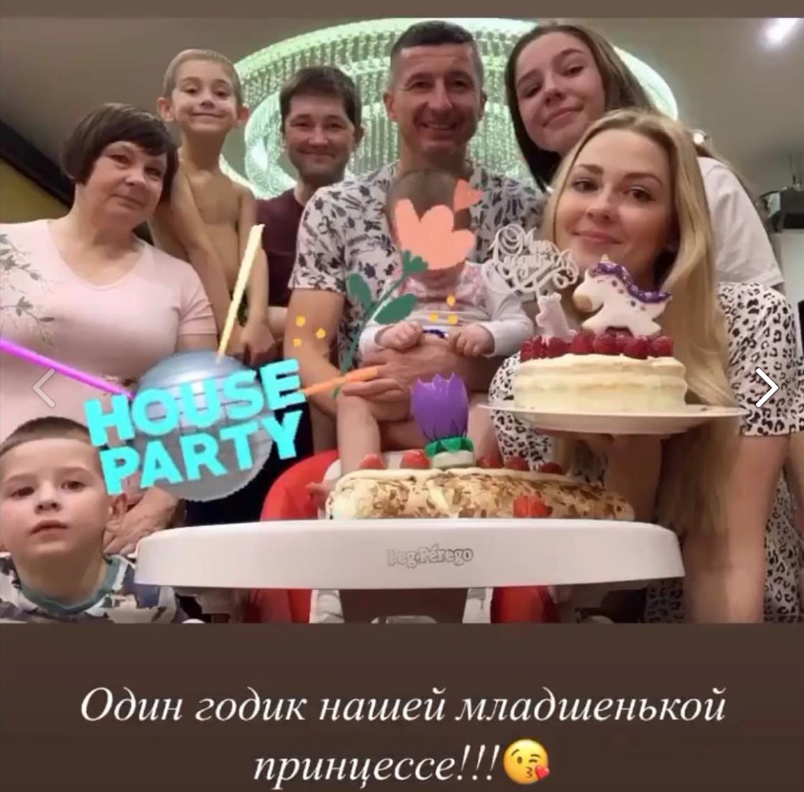 Семья Евгения Алдонина. Фото: Соцсети